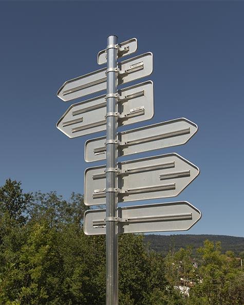 panneau signalisation directionnelle alpha signaux girod
