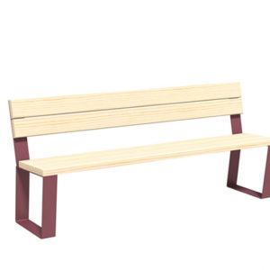 Bancs publics Synergie pin - Mobilier urbain Signaux girod