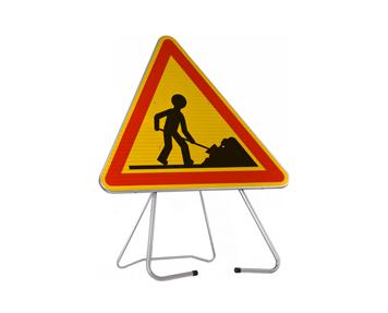 Panneau chantier Ak5 delta GR Signaux Girod