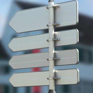 Panneau signalisation directionnelle Combettes - Signaux girod