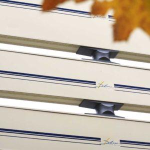 Panneau gamme caisson traversants dos personnalisé - Signaux girod