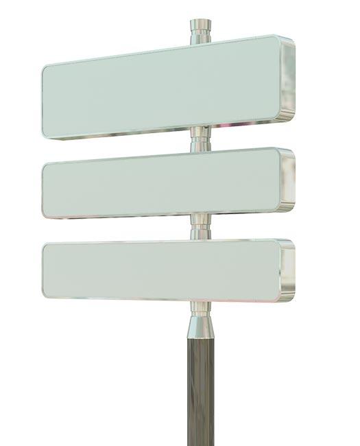 panneau directionnel caisson traversant signaux girod