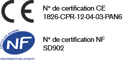 certification CE NF opale