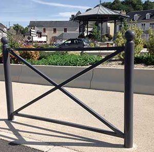 Barrière de ville Saint André - Mobilier urbain Signaux girod
