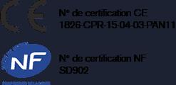 certification CE et NF
