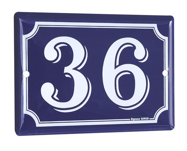 Numéro de maison aluminium