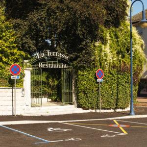 Place de parking PMR