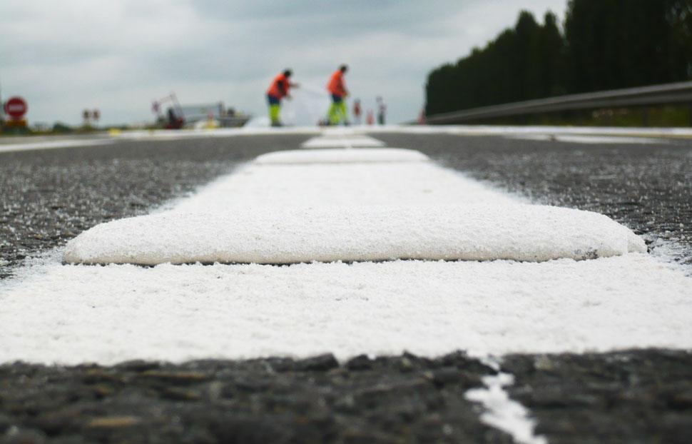 Acitivité marquage routier de Signaux Girod