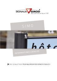 plaquette produit simo