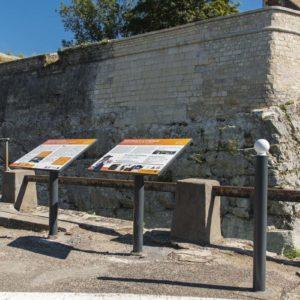 Pupitre panoramique gamme Alizé - citadelle Besançon- Signalétique Signaux Girod