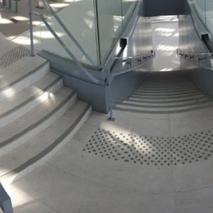 Bande d'éveil à la vigilance pour la gare de Montpellier