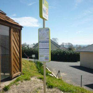 Poteau arrêt de bus - Réalisation - Signaux girod