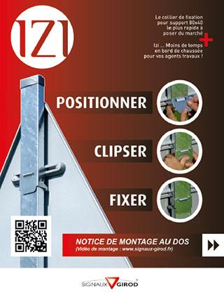 Documentation Collier fixation IZI
