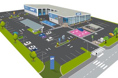 Aménager votre centre commerciale - Solution Signaux Girod