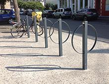 Mobilier extérieur : Support Vélo - signaux girod Aménager votre entreprise privée