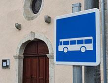 Panneau arrêt de bus - Aménager votre école signaux signaux girod