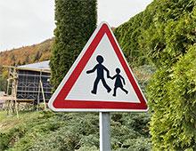 Panneau attention école - Aménager votre école signaux signaux girod