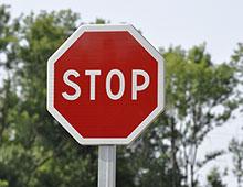 panneau signalisation police stop - aménager votre centre commercial signaux girod
