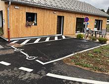 Place de parking PMR pour votre camping