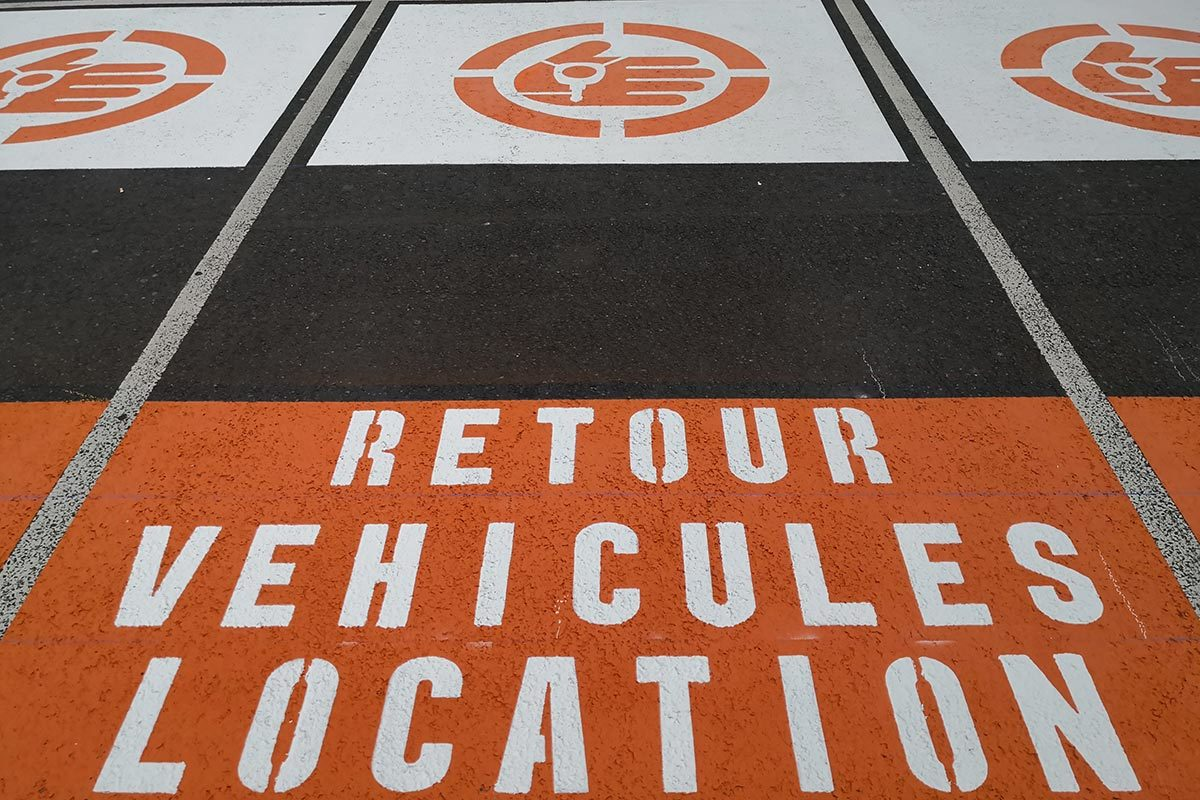 marquage au sol parking signaux girod