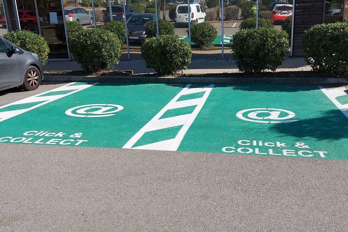 marquage place parking signaux girod