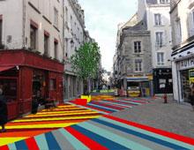Marquage au sol créatif pour vos rues