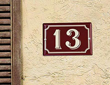 Numéro de rue - Aménager votre collectivité signaux girod