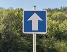 Panneau sens de circulation c1a