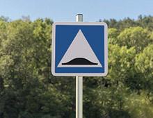 Panneau signalisation dos dane C27 - aménager votre centre commercial signaux girod
