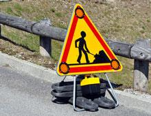 Panneau travaux AK5 Trisflah Delta - Sécuriser vos chantiers Signaux girod