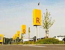 Signalétique- Zone de parking