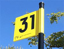 signaletique zone parking-amenagement centre commercial signaux girod