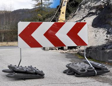 Panneau de signalisation K8