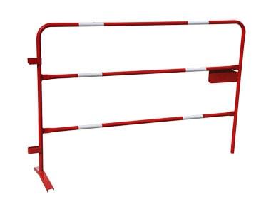 Barrière de chantier amovible