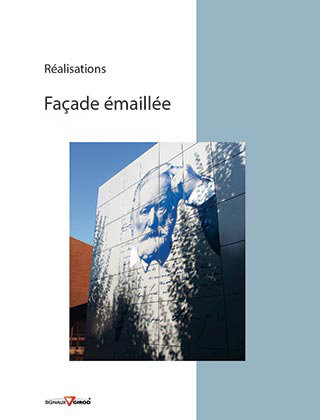 Inspiration façade emailee signaux Girod