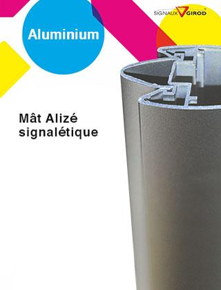 Mât Alizé pour panneaux de signalétique