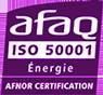 Certification Afaq iso 50001
